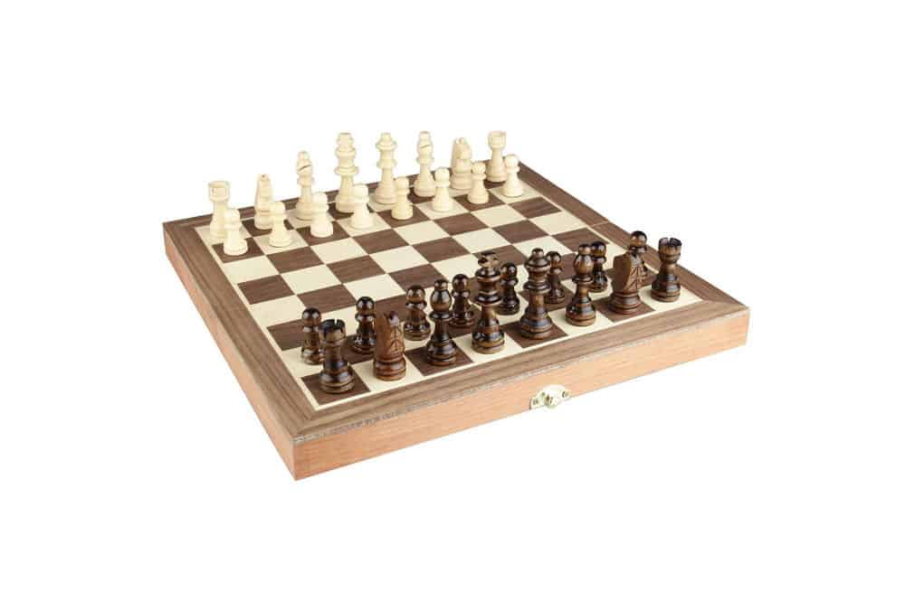 "Amerous Folding Wooden Chess Set 12""x12"" Review"