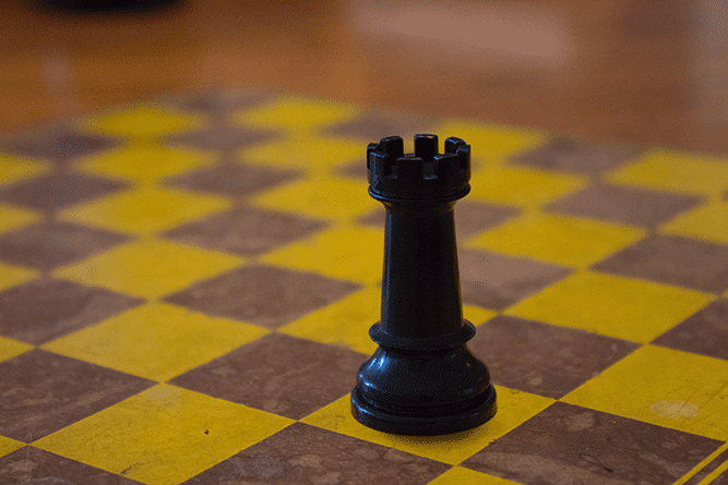 How many pieces in a chess set - rook