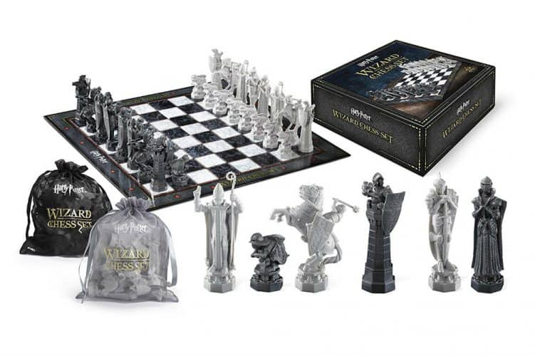 Noble Collection Harry Potter Chess Set Review