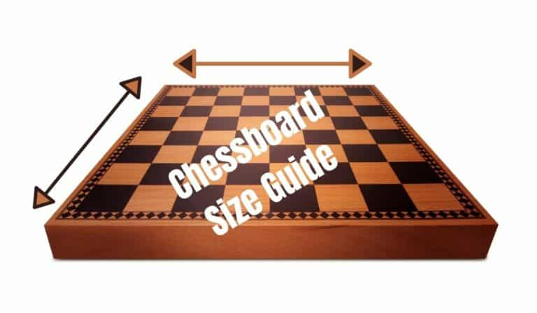 What Size is a Chess Board? (Standard & Tournament)