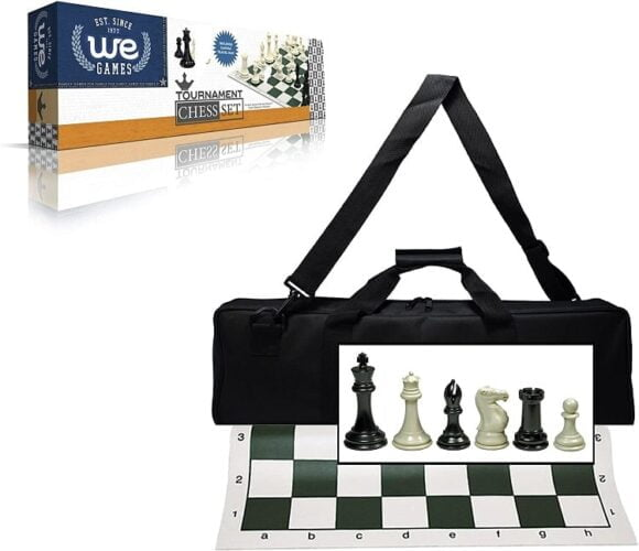 Wood Expressions Deluxe Tournament Chess Set