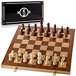 Chess Armory 15″ Wooden Chess Set