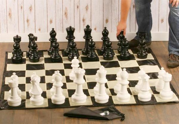 12 Inch Large Outdoor Chess Set