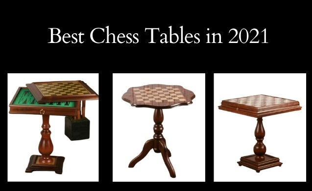 The 5 Best Chess Tables in 2021 (Reviews & Prices)