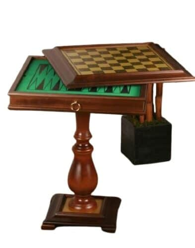Chess, Checkers, and Backgammon Table