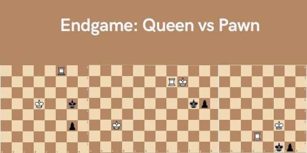 Endgame Queen vs Pawn