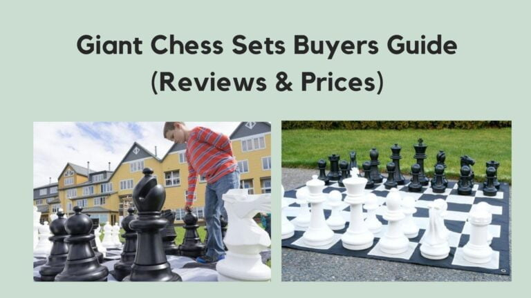 The Giant Outdoor Chess Sets Buyers Guide (Reviews & Prices)