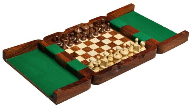 Ultimate Wooden Magnetic Travel Chess Set