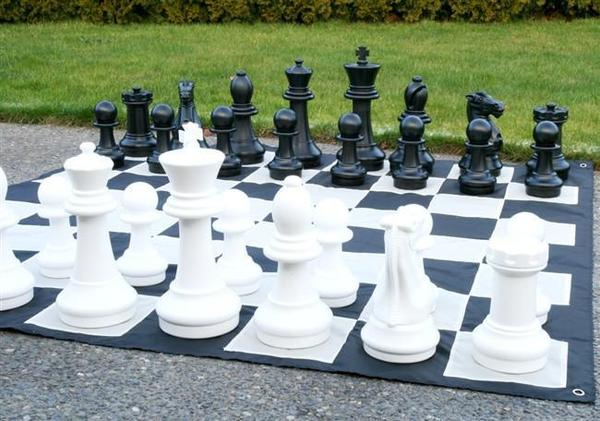 16 Inch Giant Outdoor Chess Set